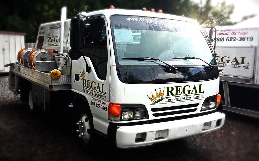 Regal Pest Control Exterminating Truck